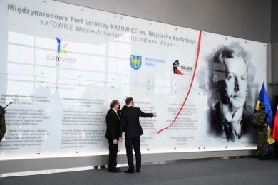 Wojciech Korfanty patronem lotniska w Pyrzowicach