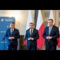 Podpisanie porozumienia o współpracy dot. setnej rocznicy Powstań Śląskich / fot. BP UMWS Tomasz Żak